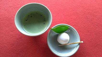 熊本旅行:水前寺成趣園 古今伝授の間(こきんでんじゅのま) お茶