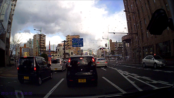 131228 目的地到着 福岡県警覆面赤灯