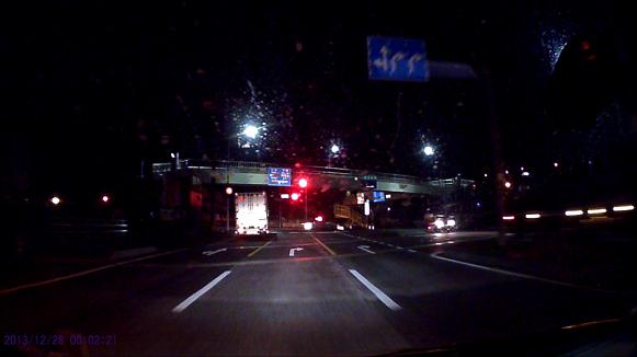131228 小倉インター到着福岡県警覆面赤灯