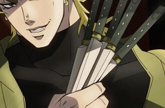 【ジョジョ】3部アニメの神イラストがすごすぎる!!!!作画監督の描いたジョジョwwwwやっぱりOVAってすごいなwwww