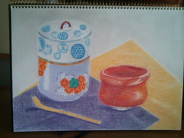 水指とお茶碗