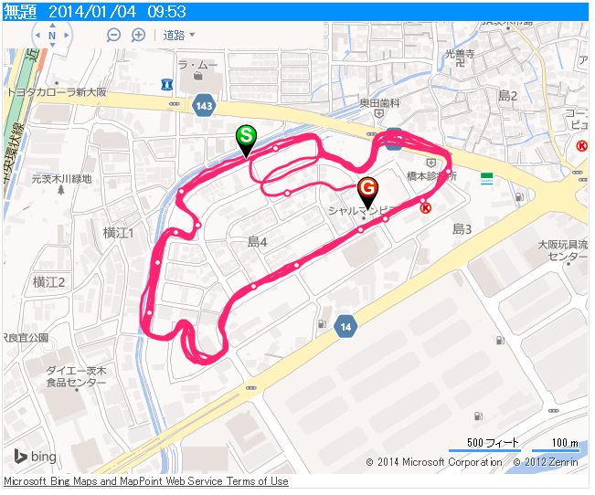 EPSON SS300R 20140104 Map