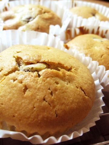 黒豆マフィン(カップケーキ)のレシピ・作り方