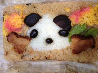 パンダ弁当