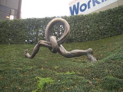 まちなか彫刻 最優秀『走れ』