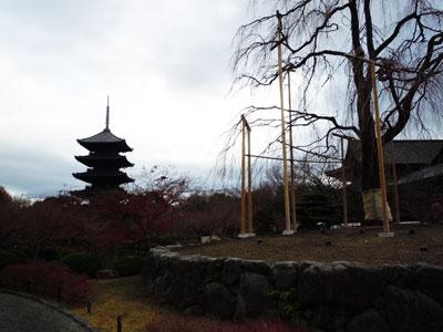 13.12.21五重塔遠景