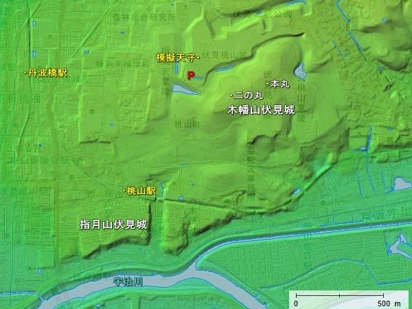 伏見城 - お城散歩