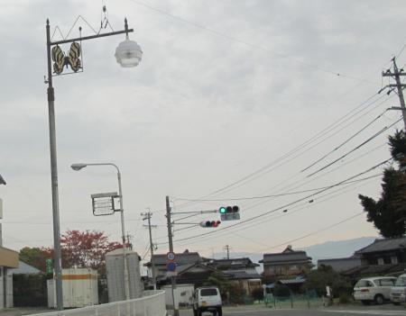 ギフチョウ街灯