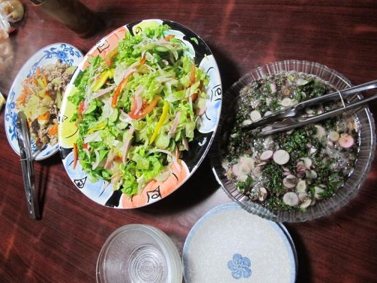 2012年11月26日の晩ご飯
