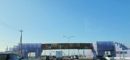 歩道橋改修