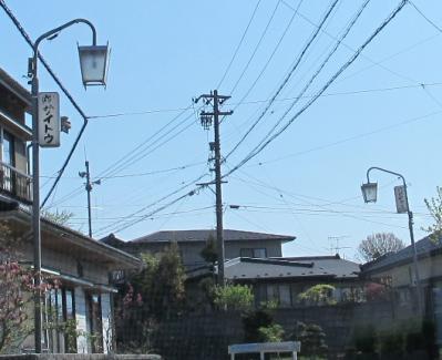 長野県飯田 街灯