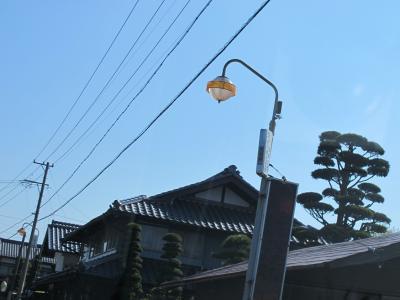 長野 飯田付近 街灯