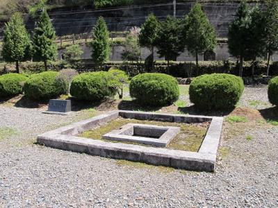 福島関所 築地塀跡
