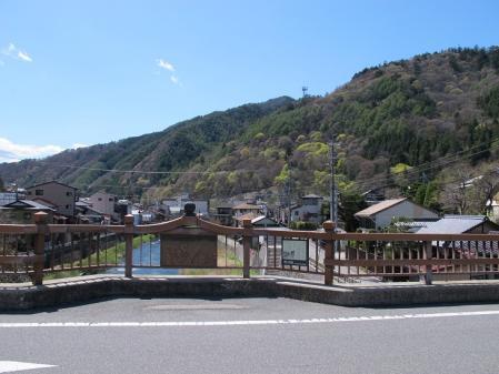 木曽川 関所橋