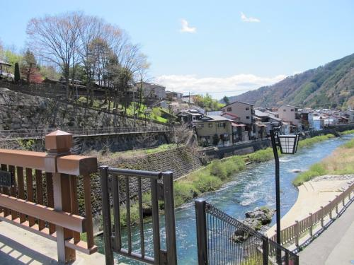 福島宿  関所橋