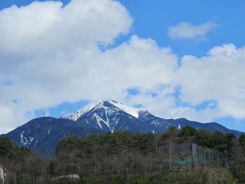 中山道 福島宿より