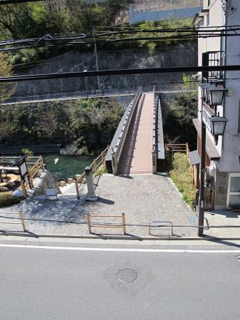 中山道 福島宿 行人橋