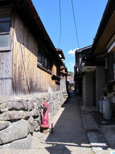 中山道 福島宿 消火栓