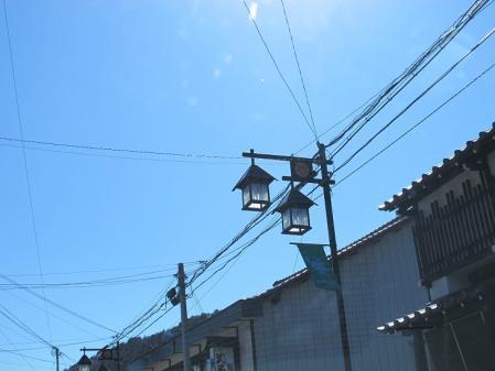 福島宿 街灯