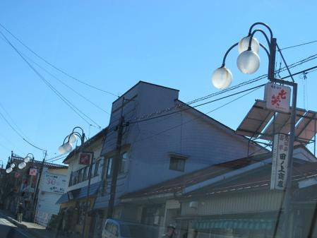 中山道 福島宿 街灯
