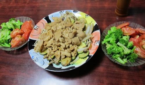 肉らしい豆な姑料理
