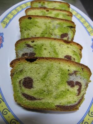 迷彩柄パウンドケーキ 精鋭の休息