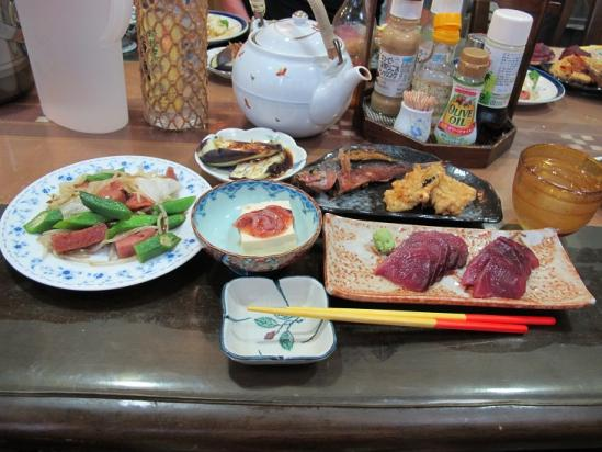 ぱいらんどの晩ご飯