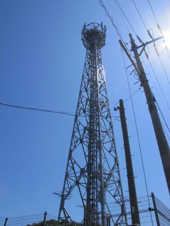 ミルミル前の鉄塔