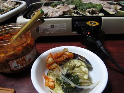 豚肉と野菜の鉄板蒸し