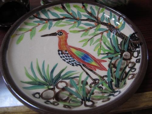 ヤンバルクイナの中皿