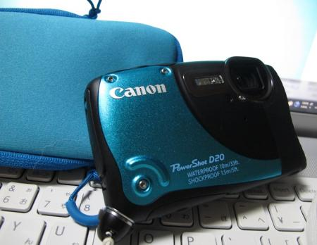 CANON Power Shot D20