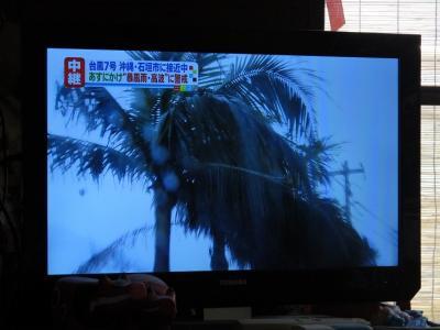 八重山に台風が・・・