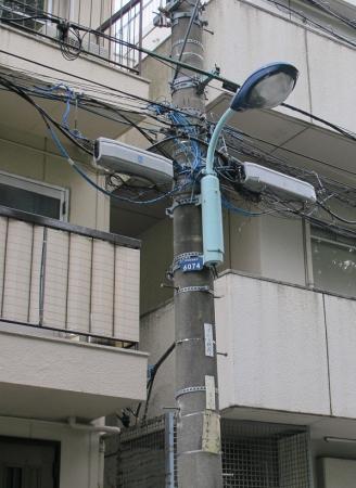 文京区 街灯
