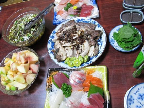 8月4日の食卓