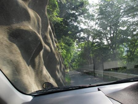 長野県 狭い道