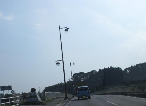 長野県 りんごの橋とりんごの外灯