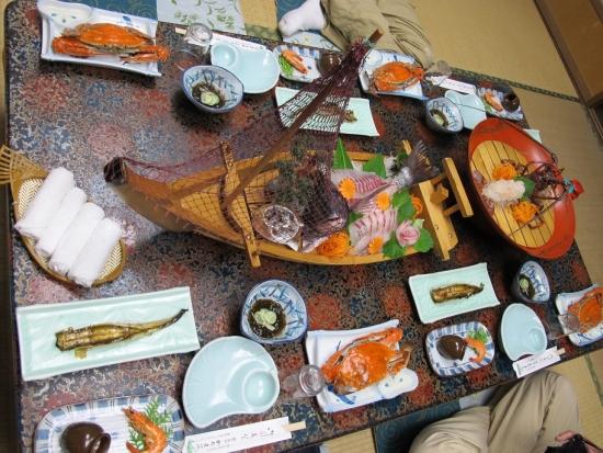 かちま荘さんの食事