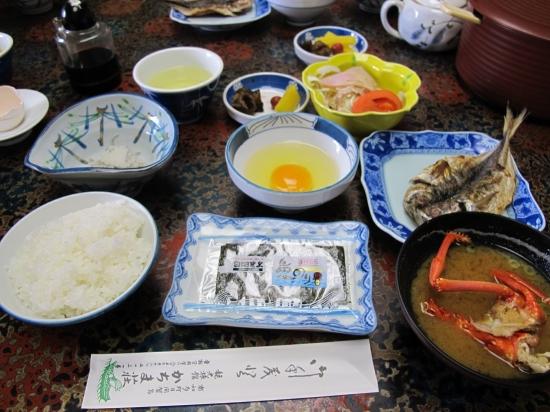 かちま荘さんの朝ご飯