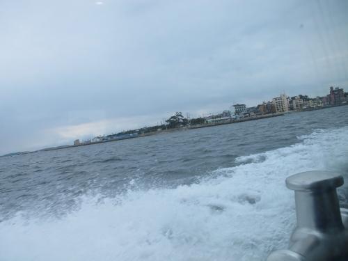 日間賀島から河和港へ