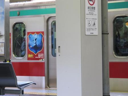 ディズニープリンセスな東急電車