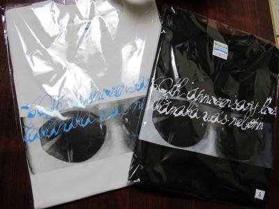 サングラスTシャツ 白と黒
