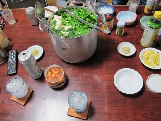 豚ホウレンソウ鍋