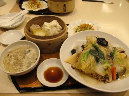飲茶セット バリ麺