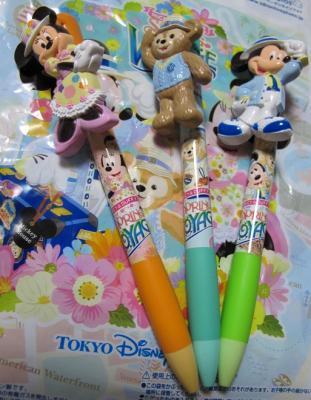 ディズニーシー土産のペン