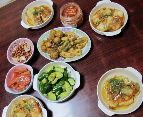 お惣菜な食卓