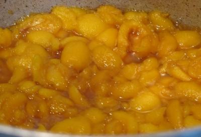 ビワの蜂蜜煮