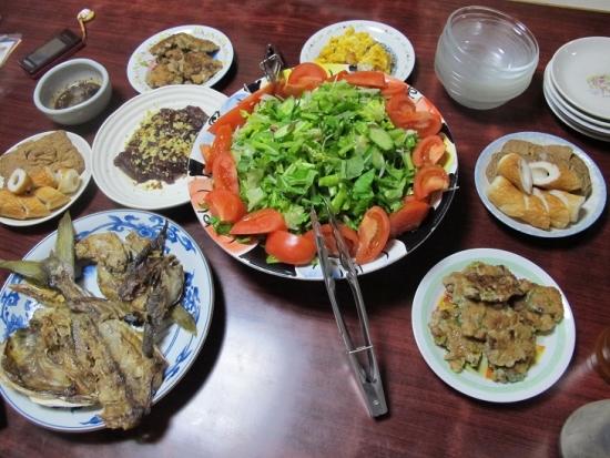 2013年ラスト晩ご飯
