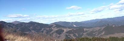 棒の峰山頂パノラマ