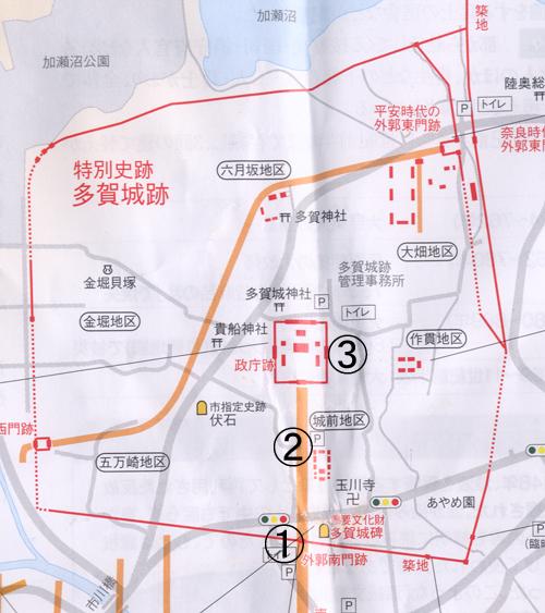 多賀城地図