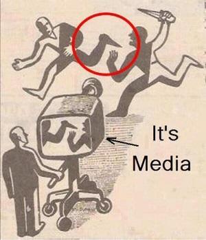 風刺画 マスメディア